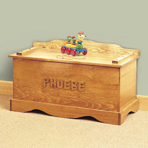 toy chest woodworking plans imagine the excitement of putting my toys ...