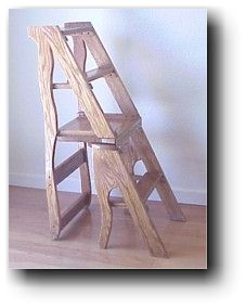 Library Step Stool Woodworking Plan