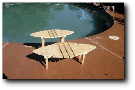 Woodworking Project Plans Adirondack Shark Tables