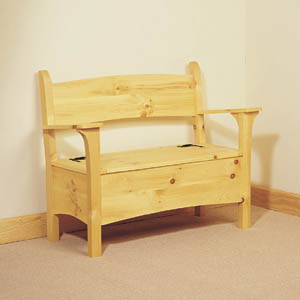 Deacons Storage Bench Woodworking Plans