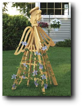 Angel Trellis Woodworking Plan
