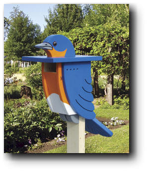 Bluebird Abode  Woodworking Plan