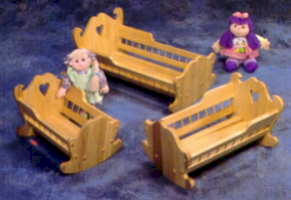 Doll Cradle Wood Plans