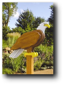 Eagle Sentry Woodworking Plan