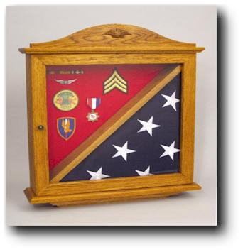 woodworking plans flag display case