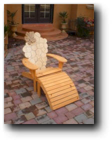 Grape Vine Adirondack Chair Woodworking Plans