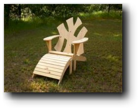 NY Adirondack Chair Woodworking Plans