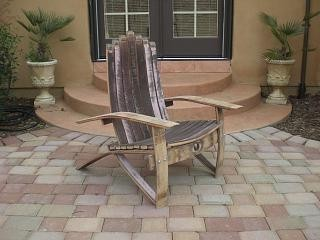 Wine Barrel Chair Woodworking Plans