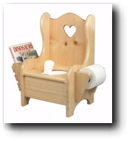 Potty Chair Woodworking Plans
