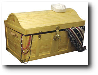woodworking treasure chest plans