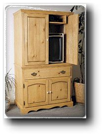 Armoires, Wood TV Entertainment Centers - Country Furniture