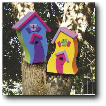 Whimsical Bird House Plans Free