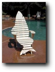Shark Chair Woodworking Plans