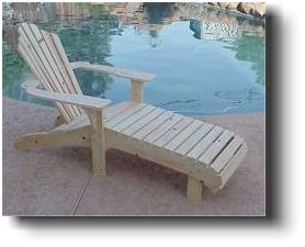 adirondack lounge chair wood plans
