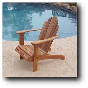 Adirondack Folding Chair Woodworking Plans