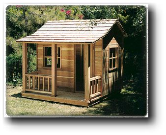 Playhouse woodworking plans for Simple outdoor playhouse plans
