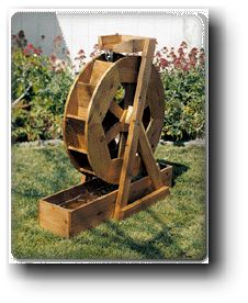 water wheel woodworking plans