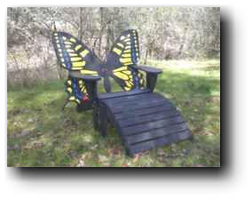 Butterfly Chair Woodworking Plans