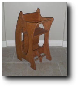 rocking horse high chair plans