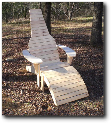 beer bottle adirondack chair plan