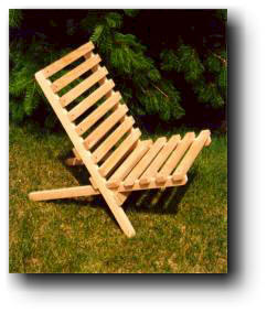 Civil War Camp Chair Woodworking Plan No. 512 $9.95