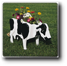 Cow Planter Woodworking Plan