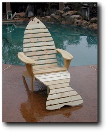 Free outdoor woodworking project plans - Patterns for adirondack chairs ...