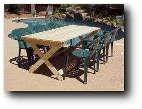plans for wood folding table