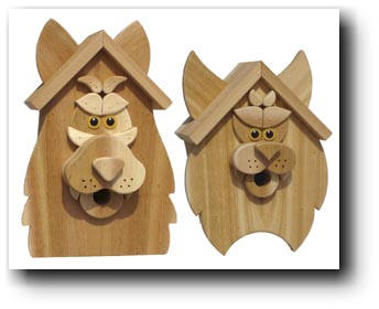 Free Bird House Plans - Bluebird, Purple Martin, Wren, More