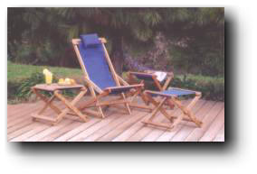 rocking sling chair woodworking plans