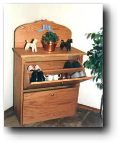 Shoe Cabinet Woodworking Plan