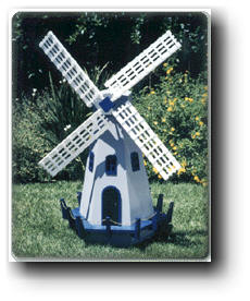 small wind mill wood plans