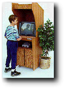 Video Game Cabinet Wood Plans