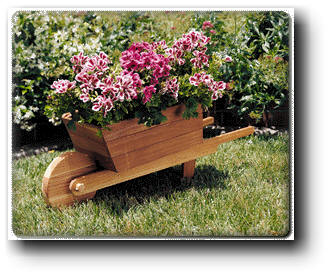 Wheelbarrow Planter woodworking plans