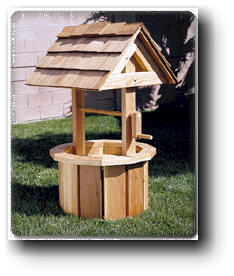 woodworking plans wishing well