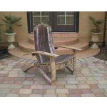 Wine Barrel Adirondack Chair Plans (Medium Size) #5852