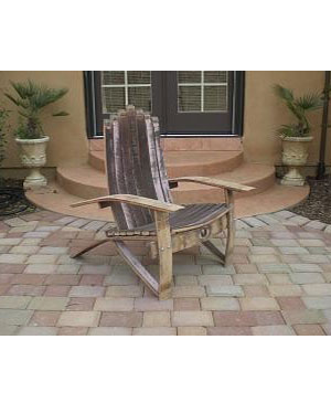 Enjoyable Wine Barrel Adirondack Chair Plans Medium Size 5852 Complete Home Design Collection Papxelindsey Bellcom