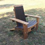 Wine Barrel Adirondack Child's Chair Plans