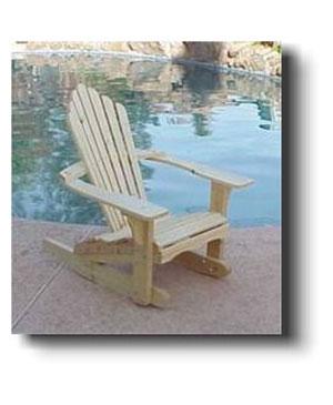 new style e00ef 83f88 Adirondack Rocking Chair Plan No. 5201