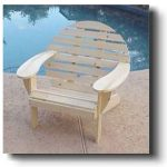 Adirondack Round Back Chair Wood Plans #5801