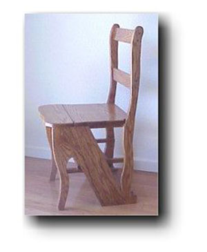 Library Chair Woodworking Plan 410