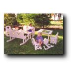Latch & Lock Children Chairs and Tables Woodworking Plans