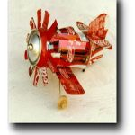 Race Plane Aluminum Can Airplane Craft Plans #1003