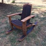 Wine Barrel Adirondack Rocking Chair -Child's Size Woodworking Plans