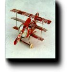 Tri-Plane Aluminum Can Airplane Craft Plan #1004